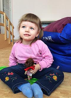 Стеша Скорнякова, 3 года, врожденная аномалия развития головного мозга, требуется лечение. 199740 руб.