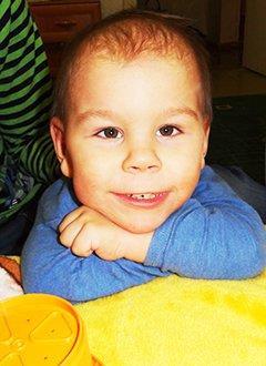 Семен Герасименко, 2 года, детский церебральный паралич, требуется вертикализатор. 218530 руб.