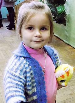 Вика Герман, 8 лет, расщелина альвеолярного отростка, деформация губы и носа, спасет операция. 307000 руб.