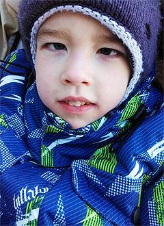 Тимур Никитин, 6 лет, детский церебральный паралич, требуется лечение. 199430 руб.