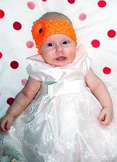 Алина Ястребова, 3 месяца, врожденная деформация стоп, требуется лечение по методу Понсети. 151900 руб.
