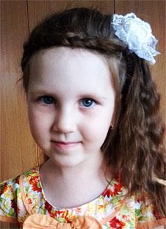 Настя Парьева, 7 лет, врожденный порок сердца, спасет эндоваскулярная операция. 339063 руб.