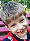 Сережа Мельников, 7 лет, детский церебральный паралич, спастический тетрапарез, требуются ортопедические ходунки. 123365 руб.