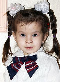 Азалия Симакатова, 3 года, врожденный порок сердца, спасет эндоваскулярная операция, требуется окклюдер. 198072 руб.