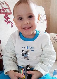 Камиль Габдрахманов, 3 года, детский церебральный паралич, спастическая диплегия, требуются специальные ходунки. 324632 руб.