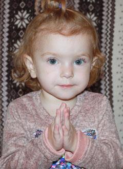 Катя Нечунаева, 2 года, врожденный порок сердца, спасет эндоваскулярная операция, требуются стенты и расходные материалы. 508323 руб.