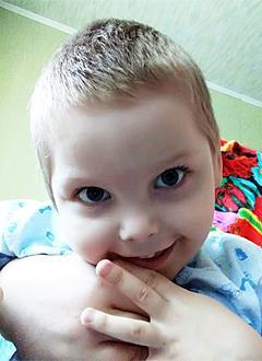 Егор Тулинов, 5 лет, детский церебральный паралич, требуется лечение. 199430 руб.