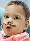 Аврора Литвинова, 1 год, врожденный порок развития центральной нервной системы, требуется оборудование для дыхания и питания. 365440 руб.