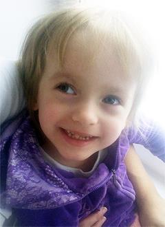 Вероника Поликарпова, 5 лет, детский церебральный паралич, требуется лечение. 199420 руб.