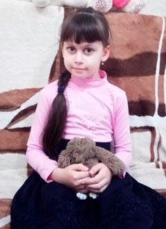 Настя Новикова, 7 лет, врожденный порок сердца, спасет эндоваскулярная операция, требуется окклюдер. 175469 руб.