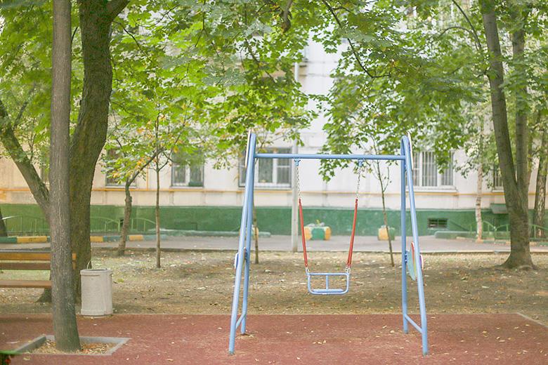 Дворы рядом с будущей прачечной фондов «Ночлежка» и «Второе дыхание»